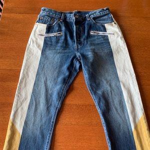 Levi's // Heritage Custom Patchwork Jeans